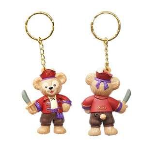 達菲熊 雪莉玫 萬聖節吊飾 日本 迪士尼