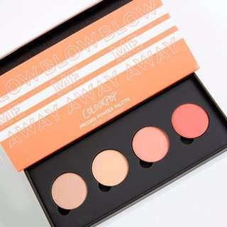🚚 Colourpop 眼影盤 Blow Me Away Pressed Powder Shadow Palette