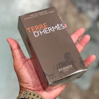 Authentic Terre D'Hermes Perfume 100ml. Limited Stock First Come First Served 😎👍