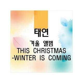 TASTE ON WINTER ALBUM - WINTER IS COMING