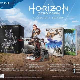 PS4 Horizon Zero Dawn Collector's Edition