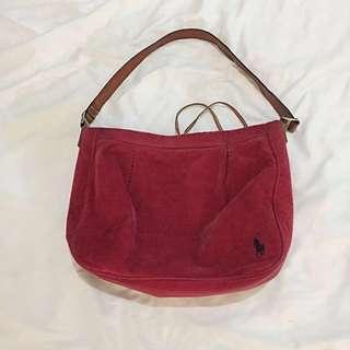 Ralph Lauren corduroy bag