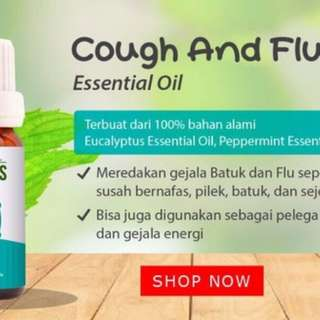 Cough & Flu Essential Oil Organiks