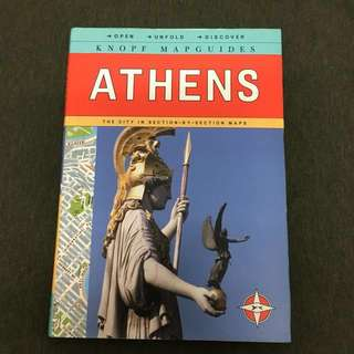 Travel Guide Athens Greece Knopf Mapguides Maps English