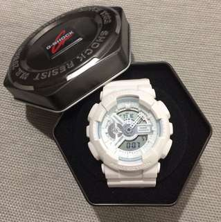 G-Shock All White GA110BC 5146