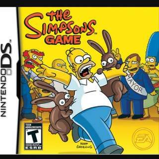 DS the SIMPSONS GAME