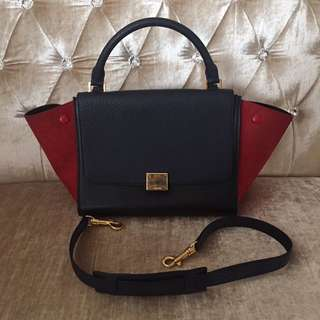 Celine Tri-Colour Trapeze Bag