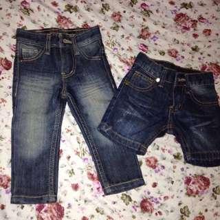Baby Pants & Shorts set