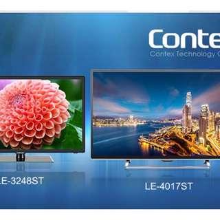 """99%新 CONTEX LE4017ST 40"""" 吋 電視(有保養至2019) 低於4折發售"""