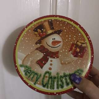 Christmas can /tin