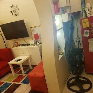 Fully furnish studio type condominium