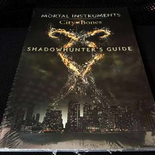 THE MORTAL INSTRUMENTS CITY OF BONES SHADOWHUNTER'S GUIDE