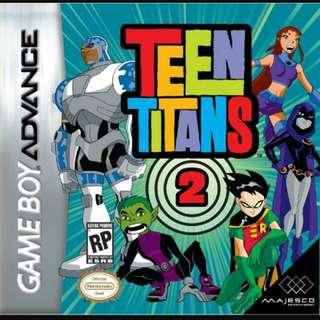 GBA Teen Titans 2 (GameBoy Advance)