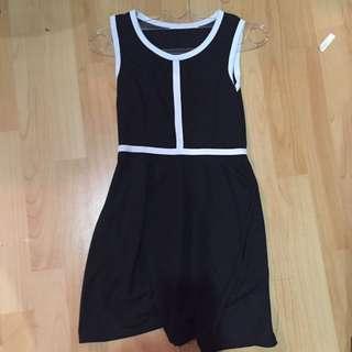 Monochrome Dress Mini