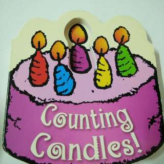 Candle Counting Children Book