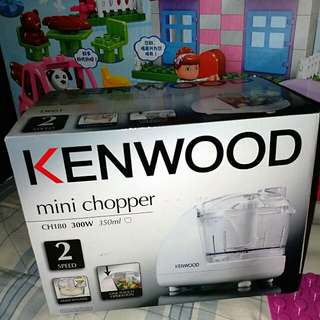 mini chopper Kenwood for meat mincer 100% new