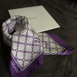 Chopard scarf全新
