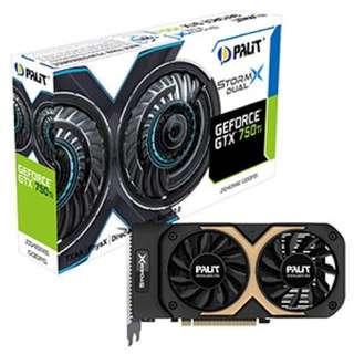 Palit GeForce® GTX 750 Ti StormX Dual 2GB