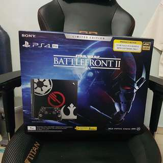 PlayStation®4 Pro Star Wars™ Battlefront™ II Limited Edition