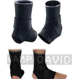 【安琪館】  NIKE同款 無標  專業綁帶式護踝 加壓護踝 護踝 腳踝護具 運動護踝 扭傷防護 籃球護踝 羽毛球