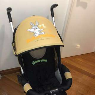 $360 for after buying my other stuff, Disney Looney Tunes baby stroller