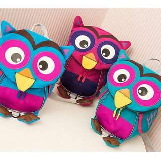 Owl backpack safety harness