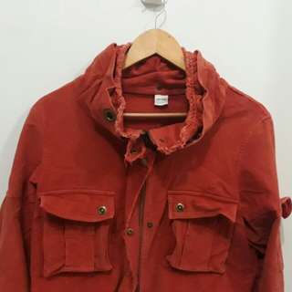 Burnt Orange Vintage Jacket
