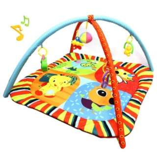 (LESS 72%) Baby Play Gym CT Toys Cute and Cuddly Musical Play Mat
