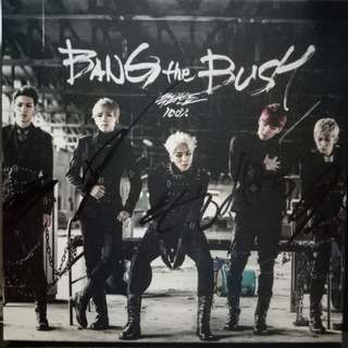 100% - Bang the Bush Autographed album 1 hundred percent