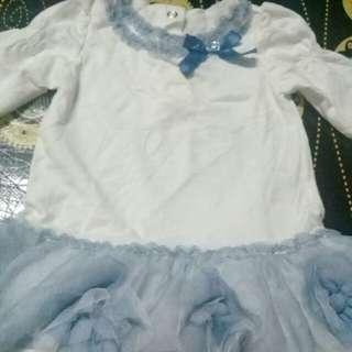 3-6 months Baby Girl Dress
