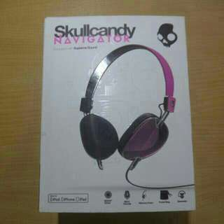 Skullcandy NAVIGATOR PINK On-ear Hesdphone