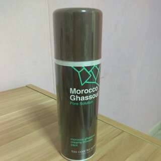 Morocco ghassoul pore solution creamy mousse pack