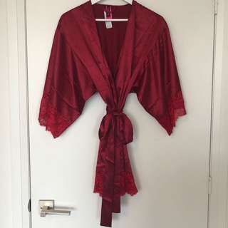 LASENSA silk robe