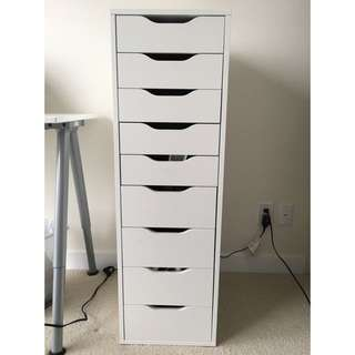 Ikea Drawer unit with 9 drawers