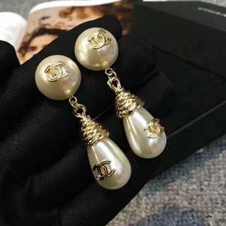 小香珍珠耳環