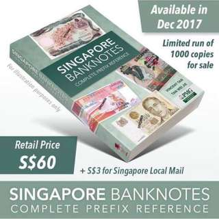 Singapore Banknote Complete Preference Book