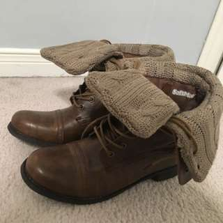 SoftMoc military boots- Style: BEV