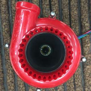 Fake turbo blowoff valve speaker
