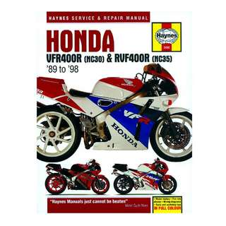 Haynes Manual for Honda RVF 400