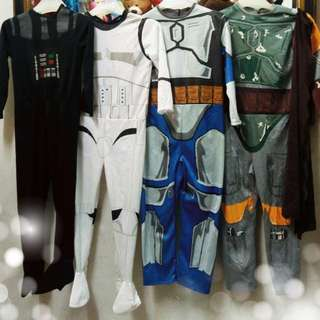 Starwars costume 7-8 yrs