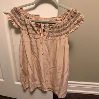 Joie pink top - size small