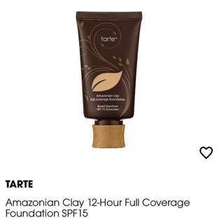 Tarte Amazonian Clay Full Coverage Foundation SPF 15 SPF15 - Medium Sand