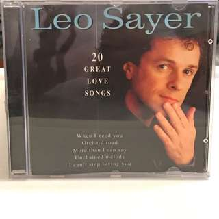CD 208 Leo Sayer - 20 Great Love Songs