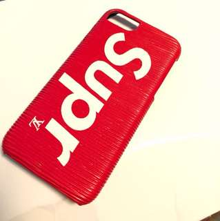 Supreme x Louis V iPhone 7 or 8 phone case