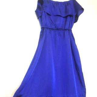 Satin dress (size 6)
