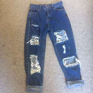 Size 8 glassons mom jeans
