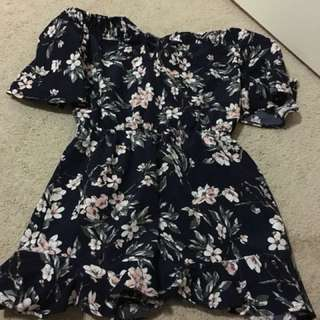 Beautiful floral playsuit