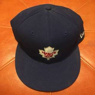 New Era Toronto Maple Leafs Hat - Size 7 3/8