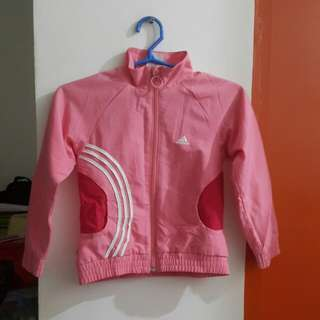 Adidas Pink Closed Neck Jacket