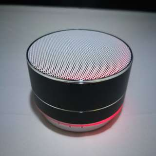 #1212YES Mini Round Bluetooth Speaker with Changing Light Colours